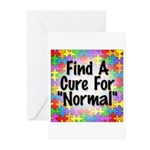 Cure Normal Greeting Cards (Pk of 10)