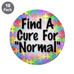"""Cure Normal 3.5"""" Button (10 pack)"""