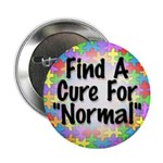 """Cure Normal 2.25"""" Button"""