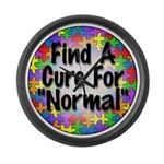 Cure Normal Large Wall Clock