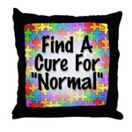 Cure Normal Throw Pillow