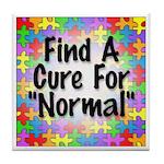 Cure Normal Tile Coaster