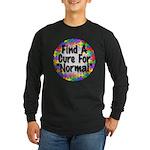Cure Normal Long Sleeve Dark T-Shirt