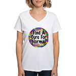 Cure Normal Women's V-Neck T-Shirt