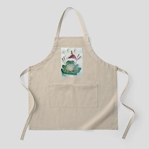"""Christmas Froggy"" BBQ Apron"
