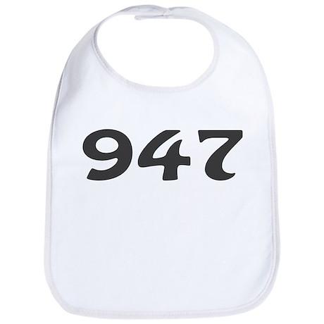 947 Area Code Bib