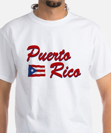 Puerto rican pride White T-Shirt