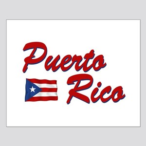 Puerto rican pride Small Poster