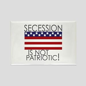 Secession Patriotic Rectangle Magnet