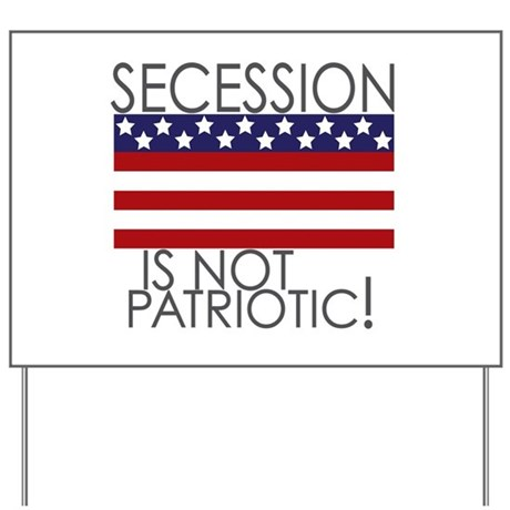 Secession Patriotic Yard Sign