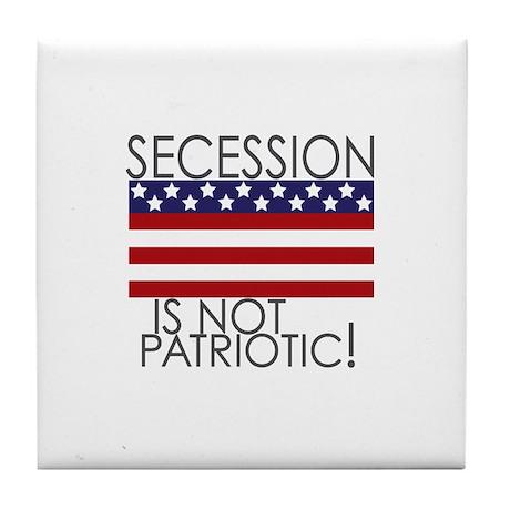 Secession Patriotic Tile Coaster