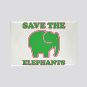 elephants4-17 Magnets