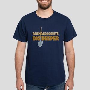 Archaeologist Dig Dark T-Shirt
