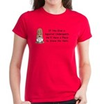 Squirrel Undies Women's Dark T-Shirt
