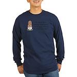 Squirrel Undies Long Sleeve Dark T-Shirt