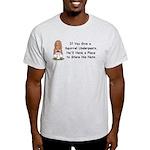 Squirrel Undies Light T-Shirt