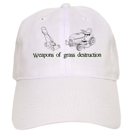 Weapons of Grass Destruction Cap