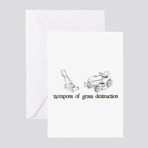 Weapons of Grass Destruction Greeting Cards (Pk of