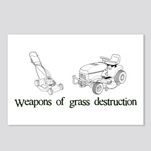 Weapons of Grass Destruction Postcards (Package of