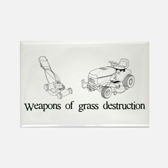 Weapons of Grass Destruction Rectangle Magnet