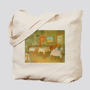 Van Gogh Interior of a Restaurant Tote Bag