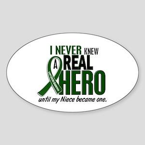 REAL HERO 2 Niece LiC Oval Sticker