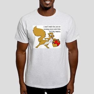 Holiday Nuts Gay Ash Grey T-Shirt