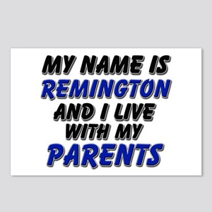 my name is remington and I live with my parents Po