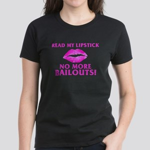Read My Lipstick Women's Dark T-Shirt