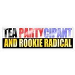 Rookie Radical Bumper Sticker (10 pk)