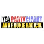 Rookie Radical Bumper Sticker