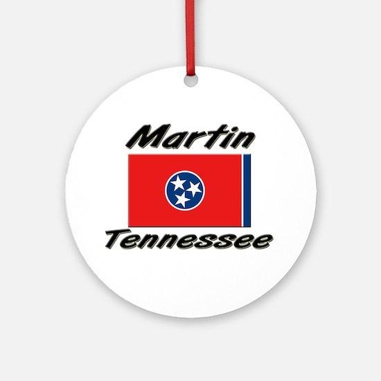 Martin Tennessee Ornament (Round)