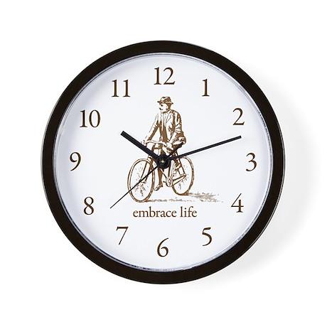 'embrace life' Wall Clock