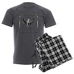 HARPOON SALOON-CAPE COD,MA Men's Charcoal Pajamas