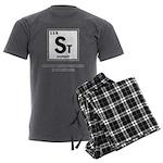 ST ELEMENT-STUPIDITY Men's Charcoal Pajamas