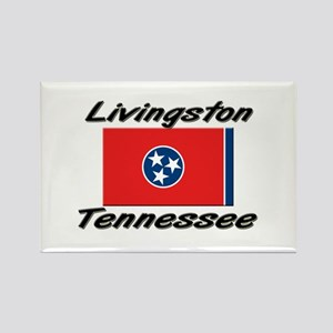 Livingston Tennessee Rectangle Magnet