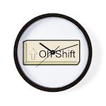 Oh Shift! key Wall Clock
