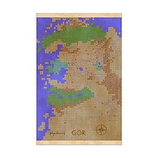Map Of Gor Mini Poster Print