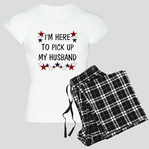 I AM HERE TO PICK UP MY HUSBAND Pajamas