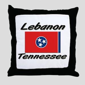 Lebanon Tennessee Throw Pillow