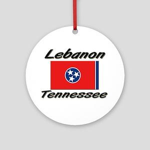 Lebanon Tennessee Ornament (Round)