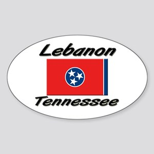 Lebanon Tennessee Oval Sticker