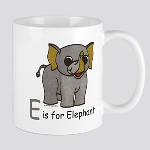 E is for Elephant Mug