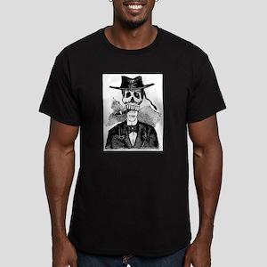 Torero Calavera Men's Fitted T-Shirt (dark)