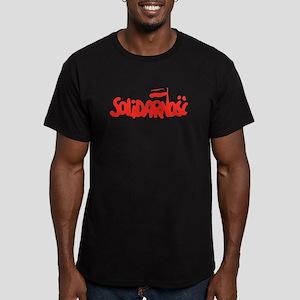 Solidarnosc Men's Fitted T-Shirt (dark)