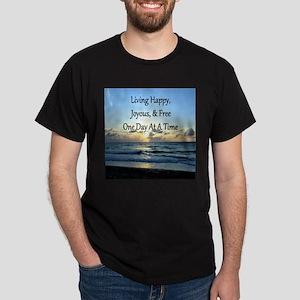 LIVING HAPPY Dark T-Shirt