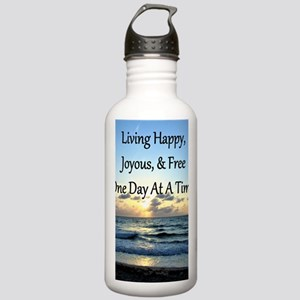 LIVING HAPPY Stainless Water Bottle 1.0L