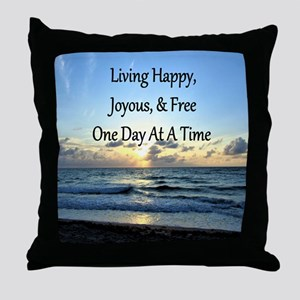 LIVING HAPPY Throw Pillow