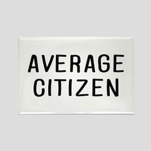 Average Citizen Rectangle Magnet