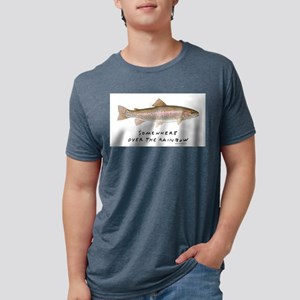 Somewere over the Rainbow Ash Grey T-Shirt